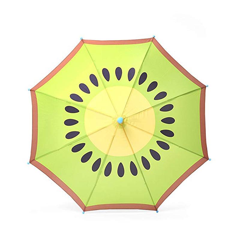 d6cd3a1ed ... التلقائي فتح مظلة الفاكهة أطفال الأطفال رائعتين أنماط نمشي على التوالي  المطر مظلة ...