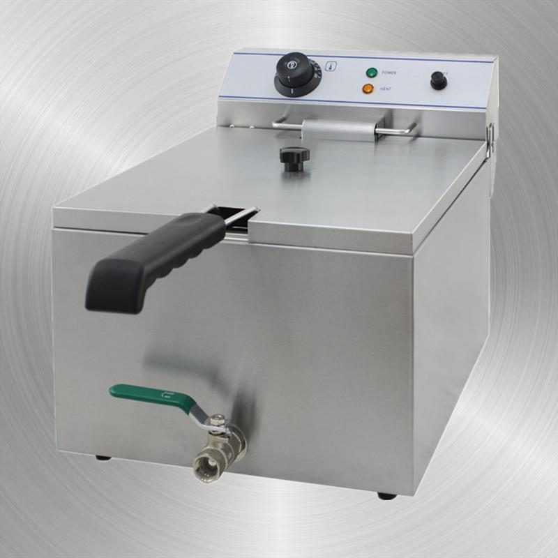 المقلاة الكهربائية مع صمام خزان واحد