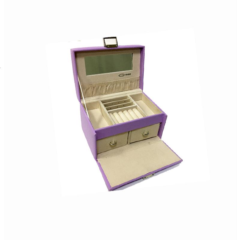 تخصيص تخزين المجوهرات هدية مربع تعزيز هدية منظم المجوهرات