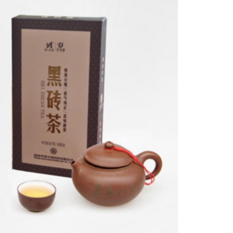 900 جرام fuzhuan الشاي هونان انهوا الشاي الأسود الرعاية الصحية الشاي