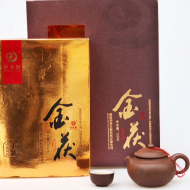 2000 جرام الذهب fuzhuan هونان انهوا الشاي الأسود الرعاية الصحية الشاي