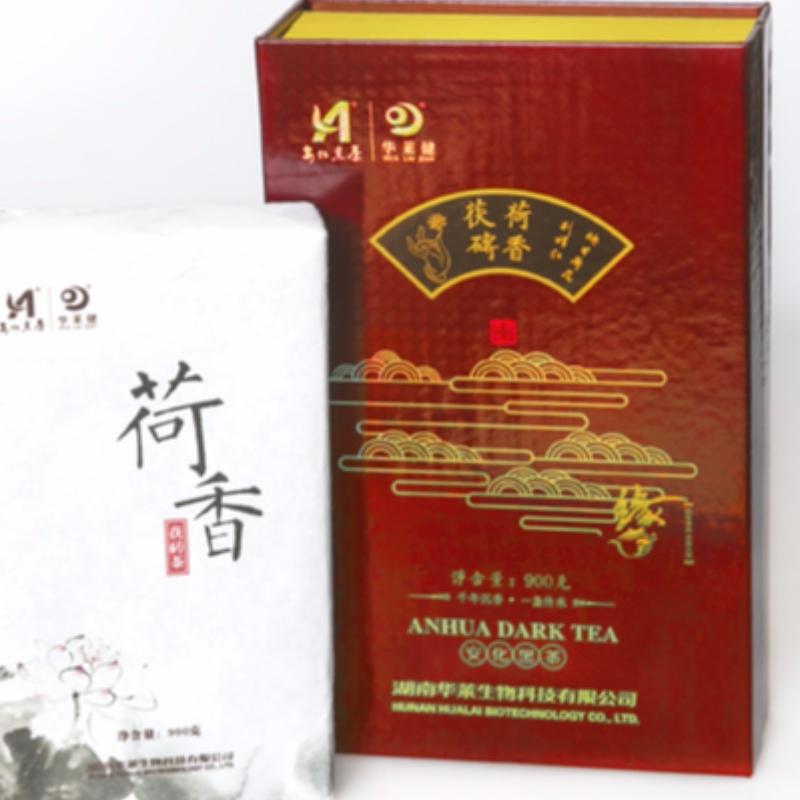 M مجموعات لوتس عبق fuzhuan الشاي هونان انهوا الشاي الأسود الرعاية الصحية الشاي