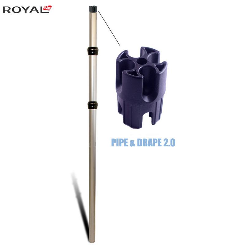 الأنابيب والستارة 2.0 تعديل تستقيم 3 قطع