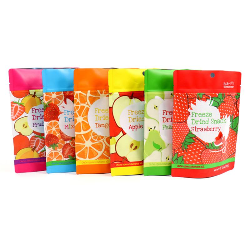 يمكن استخدام أكياس الفواكه الجافة المعبأة حديثًا لعقد أكياس الفواكه المجففة أو الجوز الخفيفة