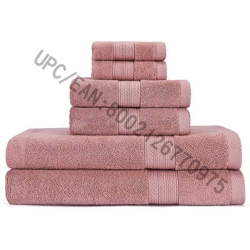 JMD TEXTILE Bathroom Towel Set، مناشف ، مجموعة من 6، 2 منشفة، 2 مناشف اليد، 2 مناشف الحمام، المناشف المناشف المنزلية المناشف الماصة المعمرة المناشف المريحة المناشف القطنية السميكة للغاية (القهوة، 6)