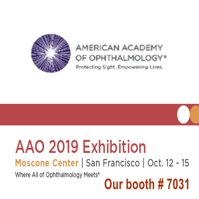 مرحبا بكم لزيارتنا في معرض AAO 2019