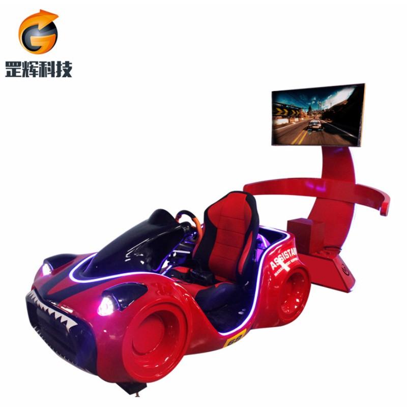 سباق محاكي VR آلة العالمية الساخنة بيع معدات متنزه ثلاثة محاور سيارة سباق vr