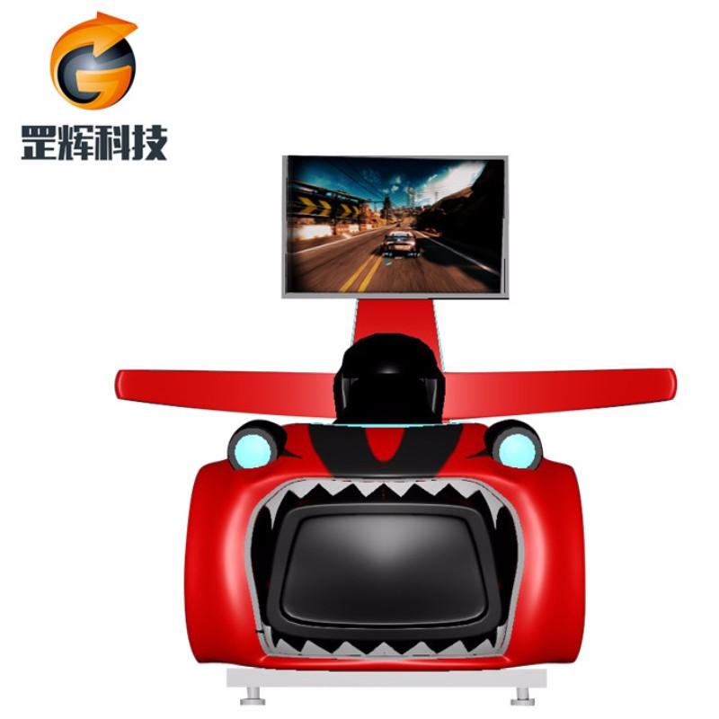 محاكاة سباقات السيارات آلة الواقع الافتراضي في جميع أنحاء العالم بيع الساخنة ملاهي المعدات المحاور الواقع الافتراضي سباقات السيارات