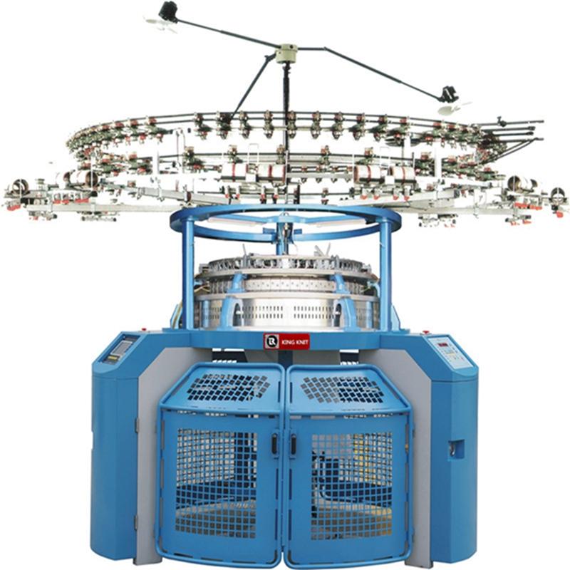 كوريا الجنوبية 4-rail جانب واحد الجاكار آلة الحياكة الدائرية