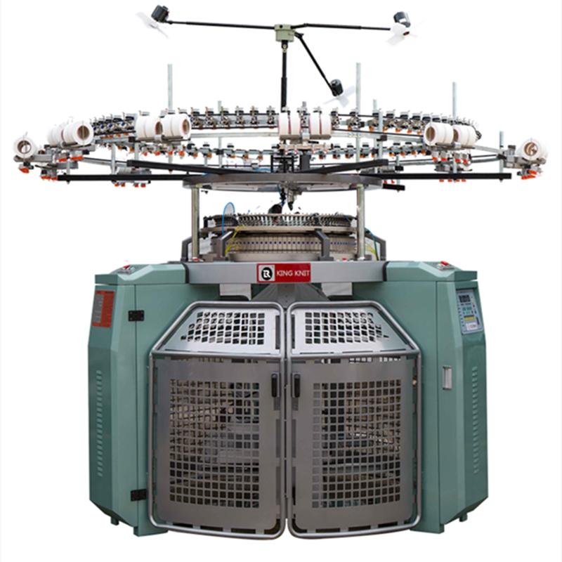 الجاكار آلة الحياكة الدائرية عالية السرعة نسيج محبوك من جانب واحد