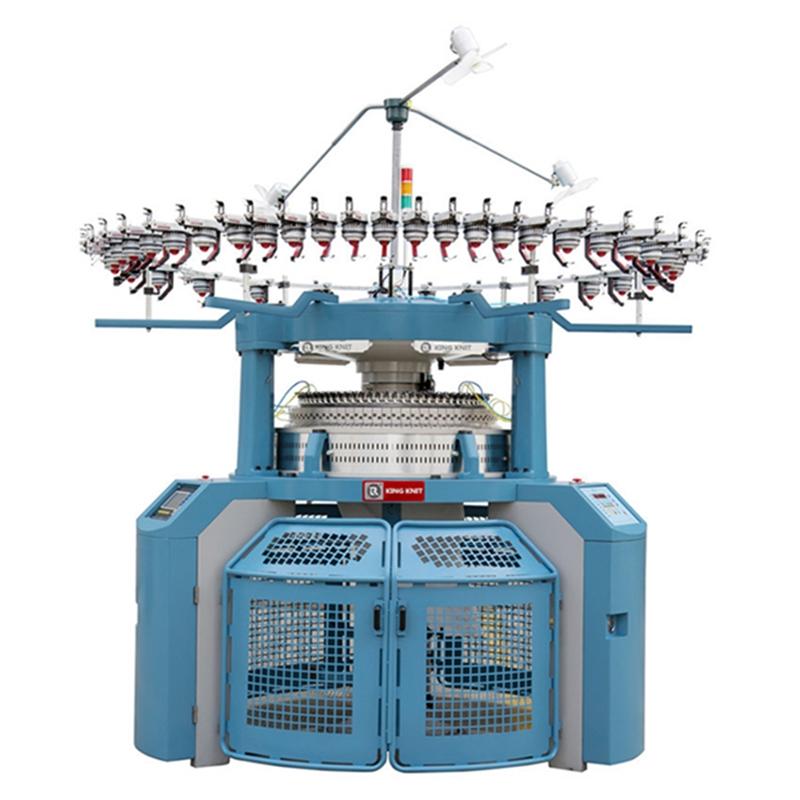 أربعة التعميم آلة الجاكار إبرة مزدوجة إنتاج المؤسسة