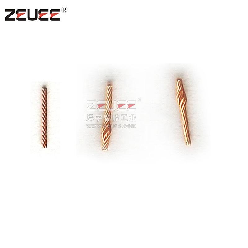 تطور دبوس موصل كهربائي معدات التجميع التلقائي