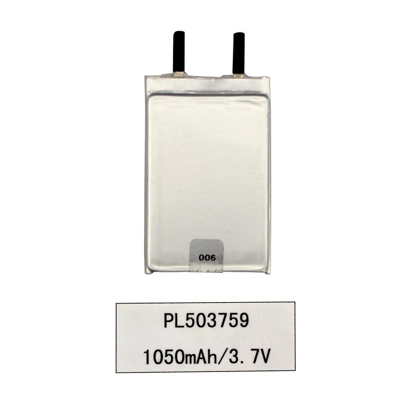 3.7 فولت بطارية ليثيوم أيون ليبو بوليمر 1050 مللي أمبير في المنتجات الرقمية